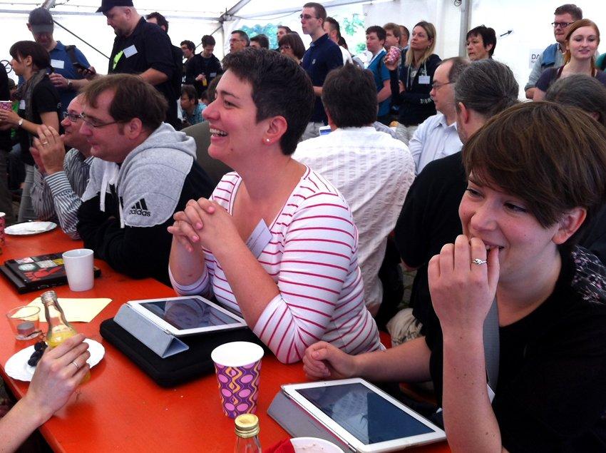 Teilnehmer Barcamp