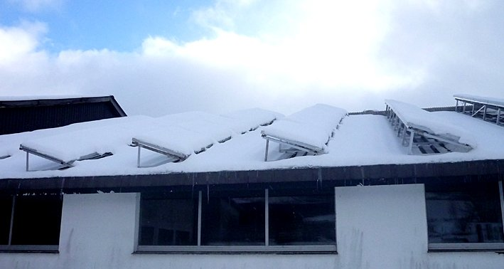 SMA Service Tip: Snow on PV-Modules