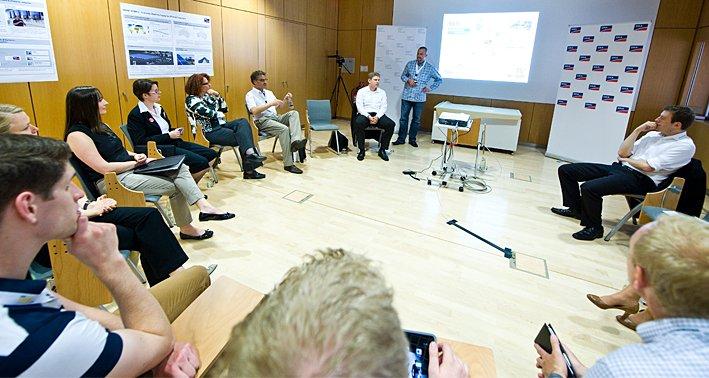 Energieblogger-Treffen Intersolar 2013