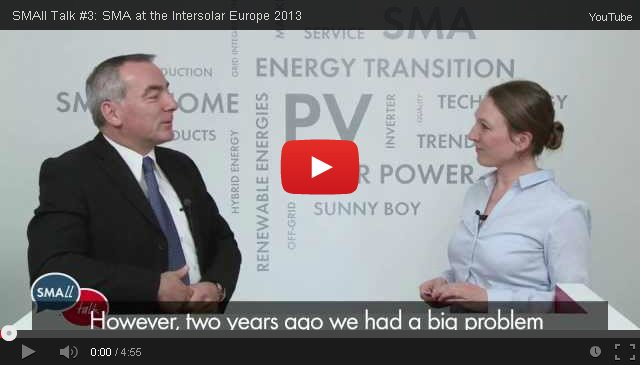 SMAll Talk Intersolar 2013