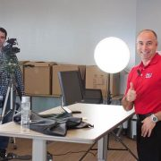 Unsere Kollegen von SMA America beim Tech Tip Videodreh
