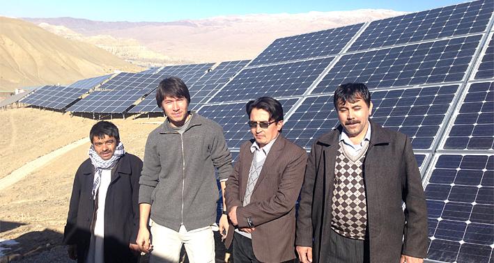 Afghanistan PV Plant