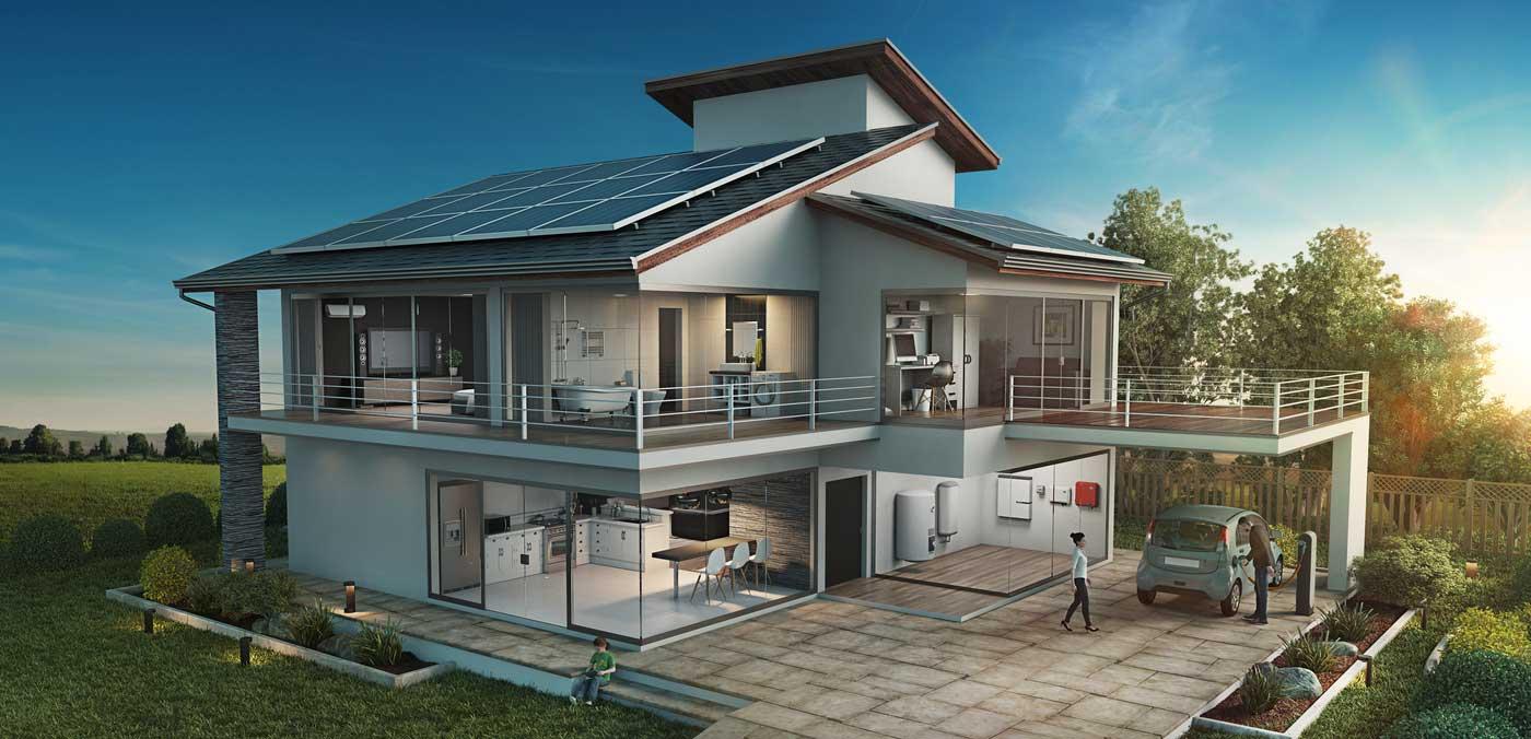 Solar-Tankstellen zuhause können den Netzausbau überflüssig machen