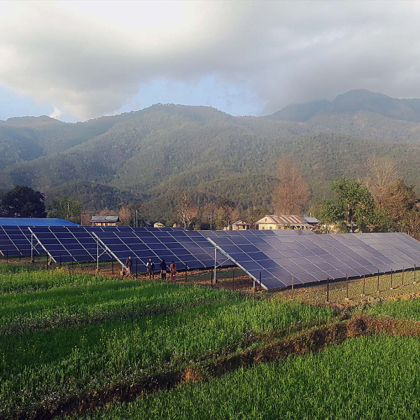 Solar micro-grid Gutu