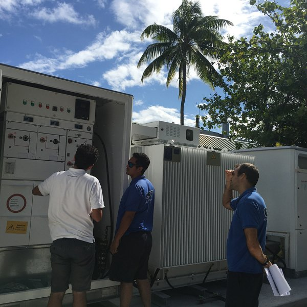 Tetiaroa Technical Training Sunny Central Storage