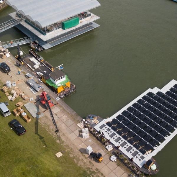 SMA Floating Farm