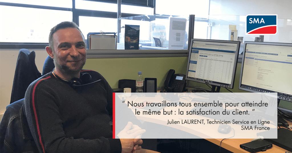 Interview Julien Laurent SMA