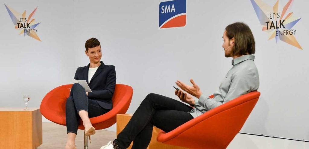Beim virtuellen SMA Event war Teilnehmer*innen der Platz in der ersten Reihe sicher
