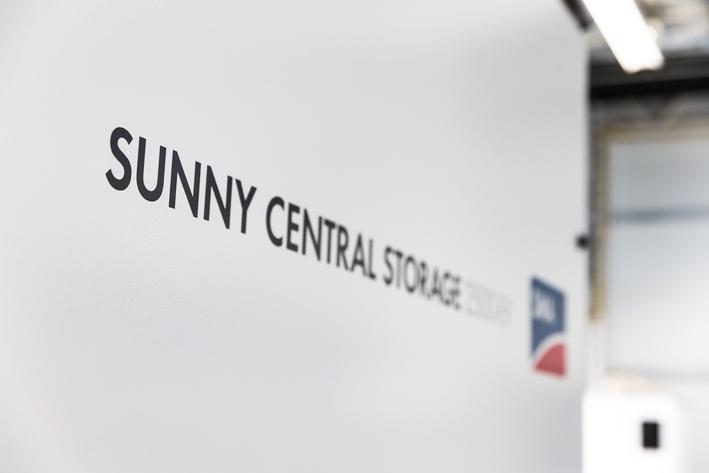 Large Scale Solar Storage