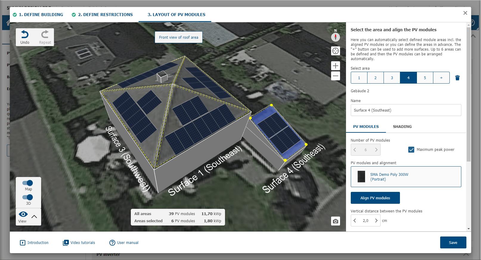 SMA Sunny Design Screenshot