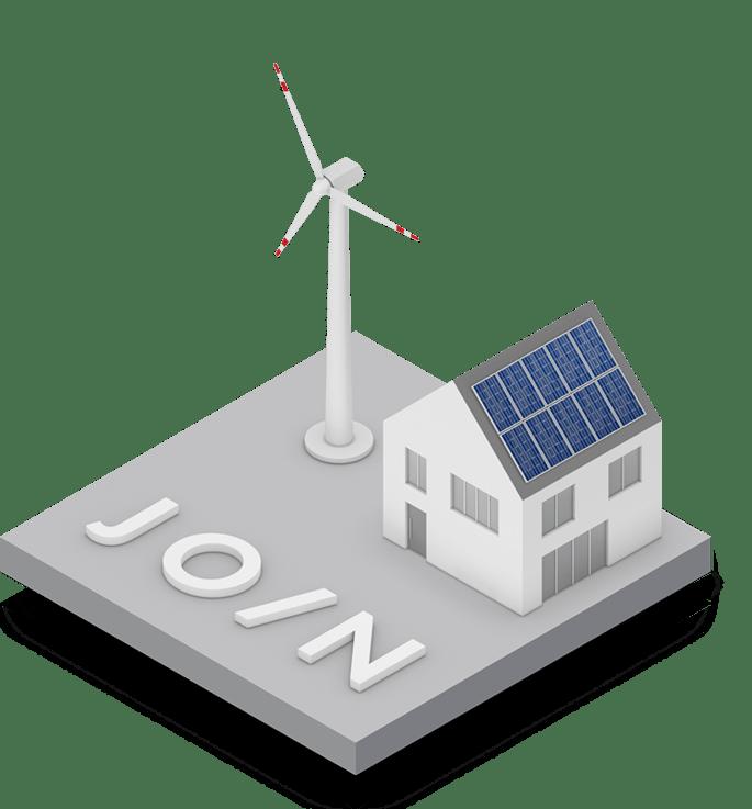 Auf 100 Prozent Erneuerbare Energien umstellen