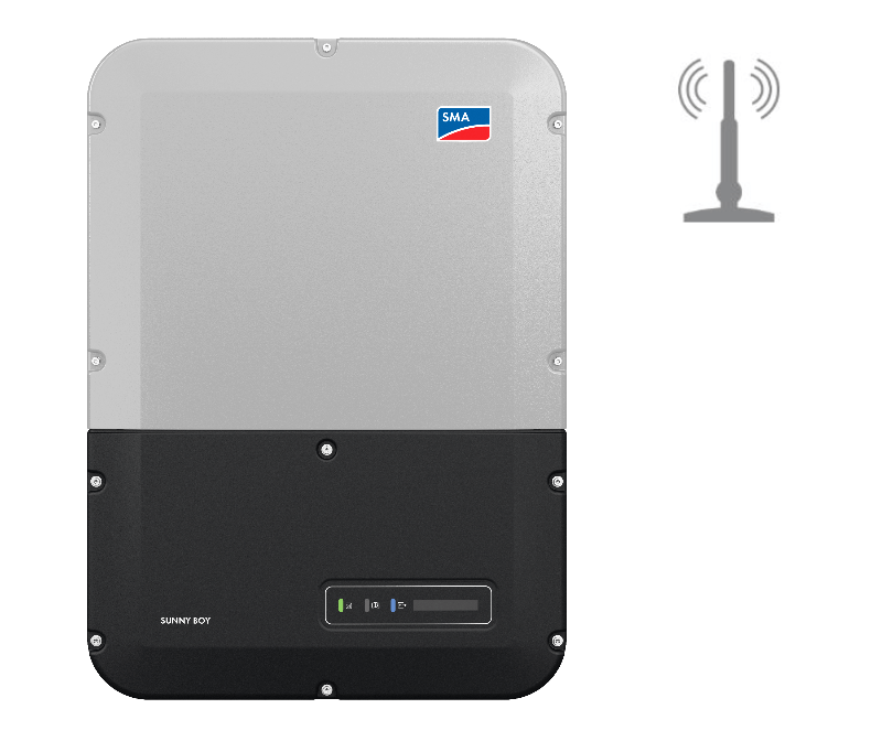 US Sunny Boy inverter with WiFi Network antenna